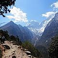 Mountain Scene  by Pema Hou