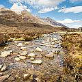 Mountain Stream From Beinn Eighe by David Head