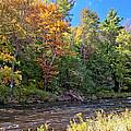 Mountain Stream In Early Autumn by A Gurmankin