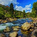 Mountain Stream by Ingrid Smith-Johnsen