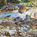 Mountain Stream by John Singer Sargent