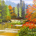 Mountain Stream by Pamela  Meredith