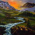 Mountain Streams by Sue Stake