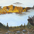 Mountain Sunrise Echoes by Johanna Lerwick