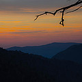Mountain Sunset by Cathy Donohoue