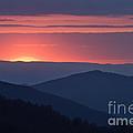 Mountain Sunset - D008988 by Daniel Dempster