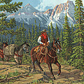 Mountain Traveler by Randy Follis