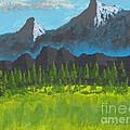 Mountain Vista by David Jackson