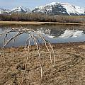 Aboriginal Sacred Sweat Lodge - Waterton Lakes Nat. Park, Alberta by Ian Mcadie