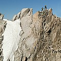 Mountaineers, French Alps by Duncan Shaw