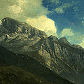 Mountains by Albert Bierstadt