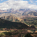 Mountains Along N9, Al Haouz by Panoramic Images