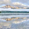 Mountains And Fog by Wanda Krack