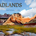 Mountains And Sky In The Badlands National Park  by Elaine Plesser
