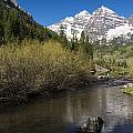 Mountains Co Maroon Bells 14 by John Brueske