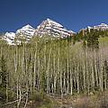 Mountains Co Maroon Bells 23 by John Brueske
