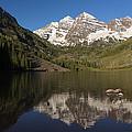 Mountains Co Maroon Bells 8 by John Brueske