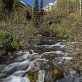 Mountains Co Maroon Creek 1 by John Brueske