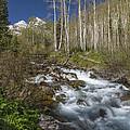 Mountains Co Maroon Creek 4 by John Brueske