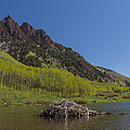 Mountains Co Maroon Lake 4 by John Brueske