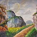 Mountains Landscape by Svetlana Rudakovskaya