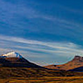 Mountains Of Assynt Panorama by Derek Beattie