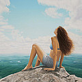 Mountaintop Meditation by Holly Kallie