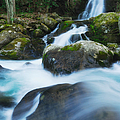 Mouse Creek Falls In Colour by Photography  By Sai
