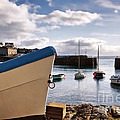 Mousehole Harbour On A May Morning by Susie Peek