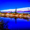 Mouth Of The Two Hearted River by Optical Playground By MP Ray