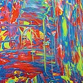Movements Of Acrylic by Artist Ai