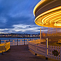 Moving Carousel  by Matthew Gibson