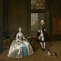 Mr And Mrs Atherton by Arthur Devis