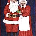 Mr And Mrs Claus by Linda Mears