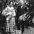Mr. And Mrs. Luther Burbank by Underwood Archives