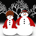 Mr And Mrs Snow 1 by Andee Design