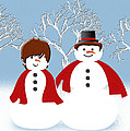 Mr And Mrs Snow 2 by Andee Design