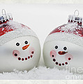 Mr. And Mrs. Snowman by Linda D Lester