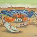 Mr. Blue Crab by Elaine Haakenson