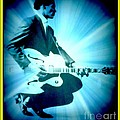 Mr Chuck Berry Blueberry Hill Style Edited 2 by Kelly Awad