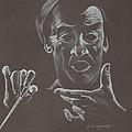 Mr Conductor by Karen Loughridge KLArt