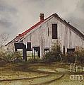 Mr. Munker's Old Barn by Charles Fennen
