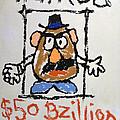 Mr. Potato Head Gone Bad by Robert Meanor