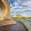 Mr Rogers Statue In Pittsburgh by Emmanuel Panagiotakis