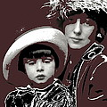 Mrs. Evelyn Nesbit Thaw And Son Arnold Genthe Photo New York 1913-2014 by David Lee Guss