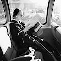 Mrs. William Mcmanus Reading On A Train by Leombruno-Bodi