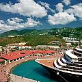 Ms Noordam St Thomas Virgin Islands by Amy Cicconi