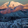 Mt Adams Sunset by Adam Jewell