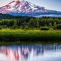 Mt Adams Sunset by Matt Hoffmann
