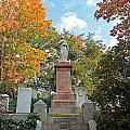 Mt Auburn Cemetery 1 by Michael Saunders